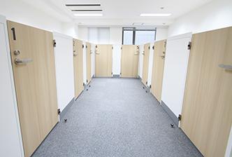 第一住建グループのコワーキングスペースで提供している施設 個室ブース