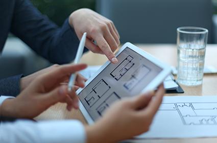 第一住建グループは先見性とアイデアで、競争に強い物件にする。